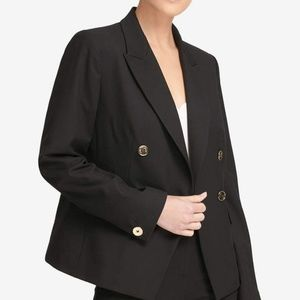 DKNY Double breasted black blazer